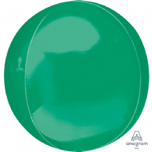 "Green Orbz Balloon (15"") 1pc"